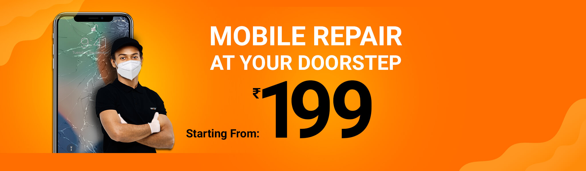 Doorstep Mobile Repair At Your Home & Office | Yaantra