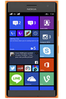 Microsoft Lumia 730 Orange