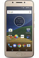 Motorola G5 plus Gold