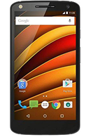 Motorola moto x force black Black