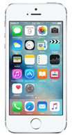 Apple iphone 5s silver Silver